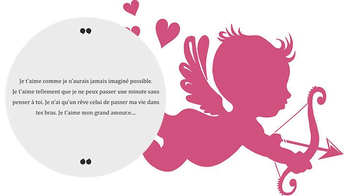 poème romantique manifestation d'amour