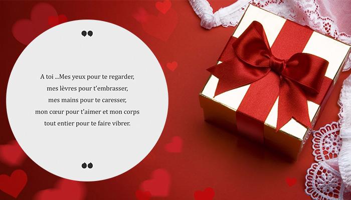 poème romantique saint valentin