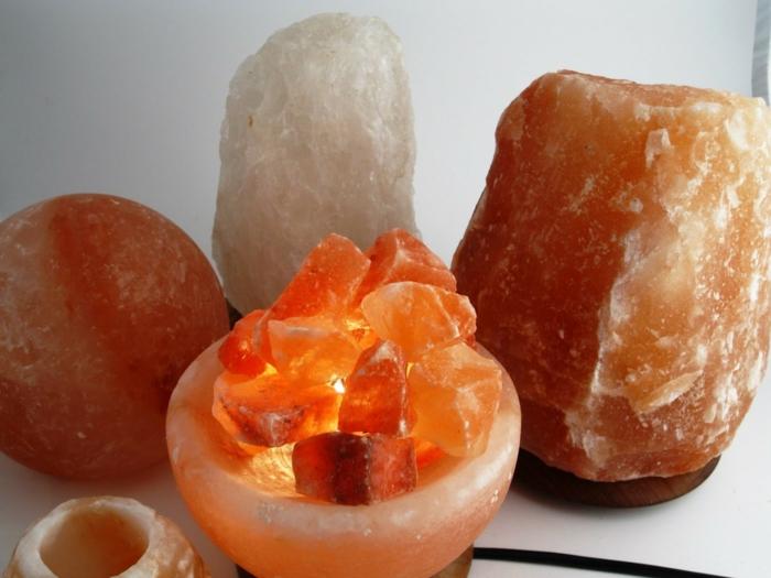 reconnaître la vraie lampe cristal de sel