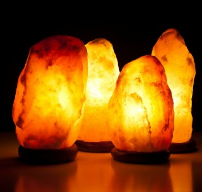 lampe cristal de sel