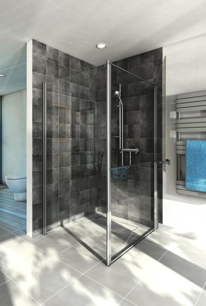 salle de bains design douche à l'italienne
