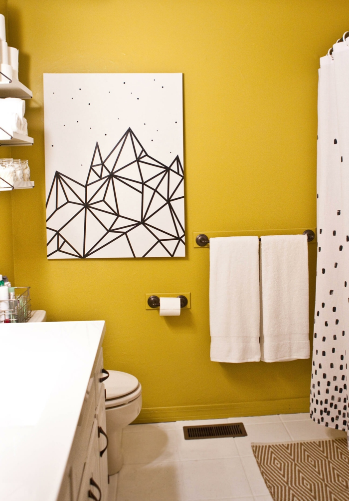 Couleur de peinture tendance 2018 choisissez les teintes - Couleur peinture salle de bain tendance ...