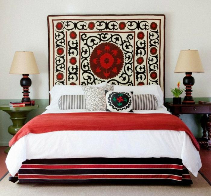 tapis pour fabriquer une tête de lit
