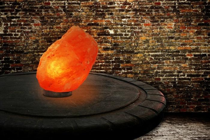 utilisation lampe cristal de sel