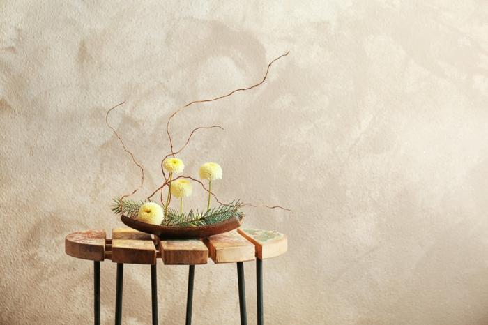 art floral atypique freakebana décoration tendance