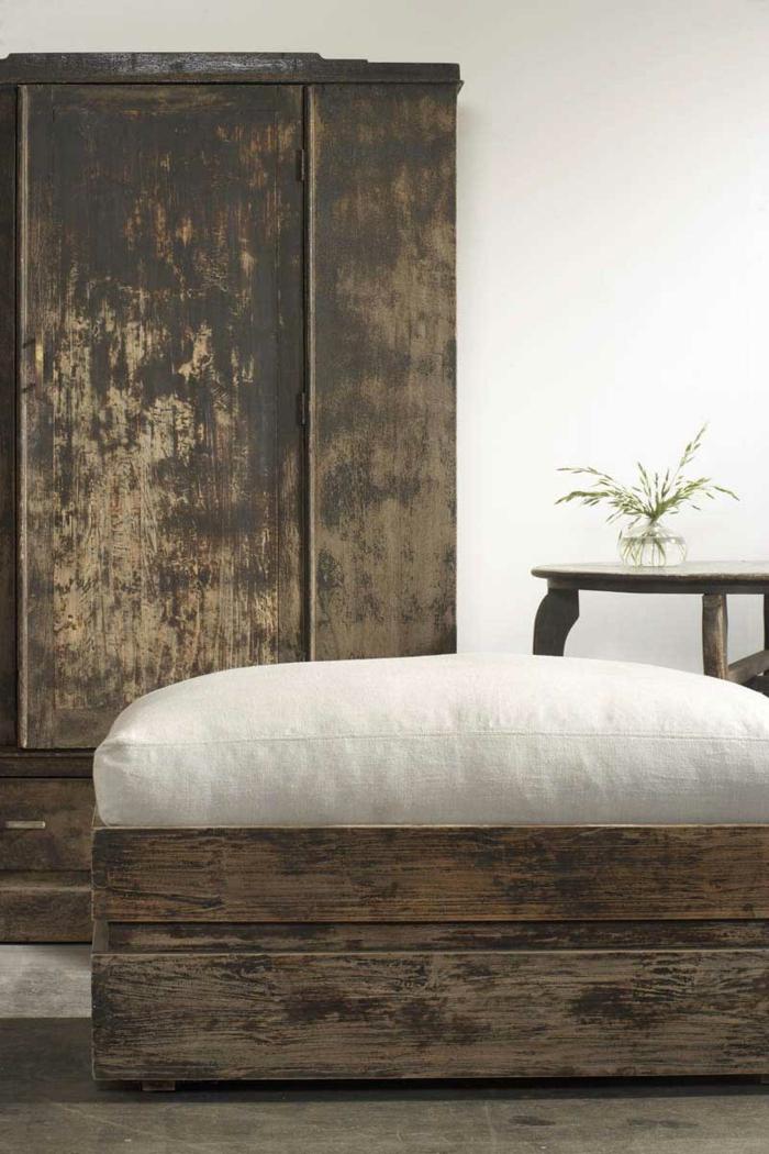 chambre à coucher déco wabi sabi