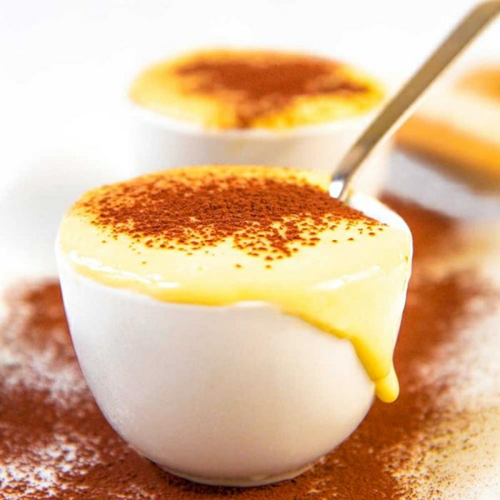 crème pâtissière au cacao