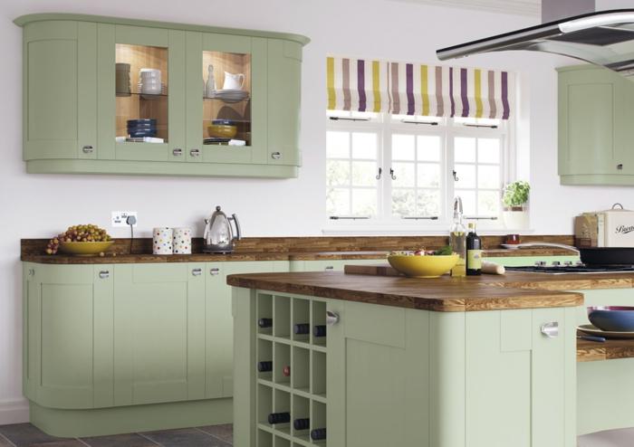 Painted Kitchen Cabinet Colours