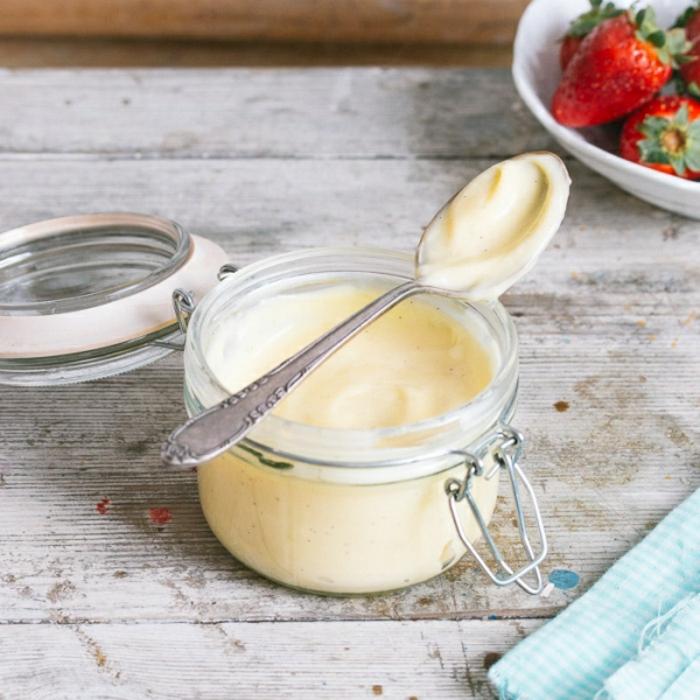 dessert crème pâtissière pour les enfants