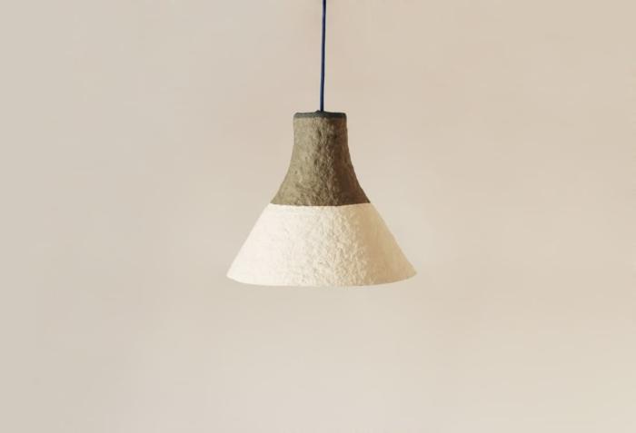 faire du papier mâché lampe