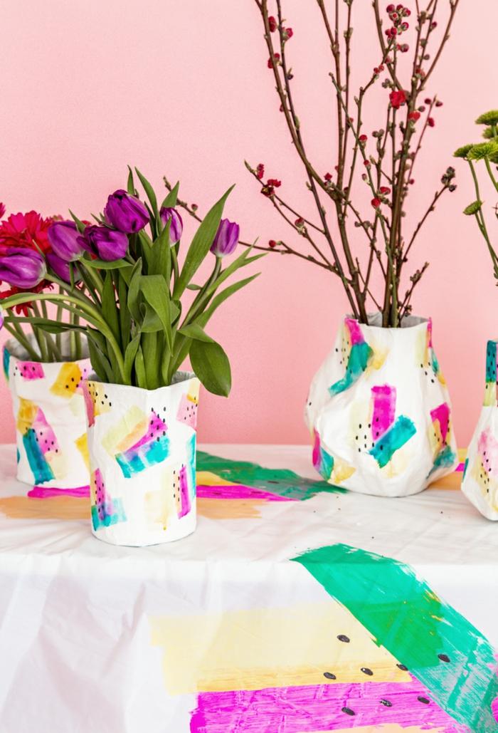 faire du papier mâché vases