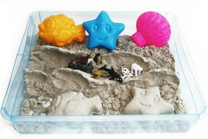 idée avec un sable magique