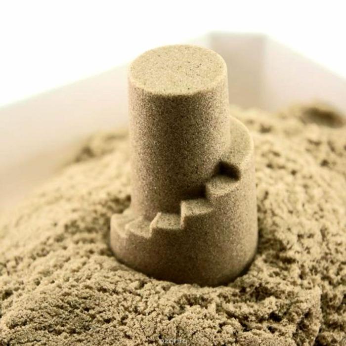 idée pour les enfants sable magique