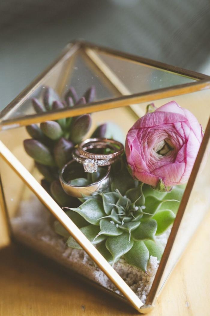 inspiration boite alliance mariage