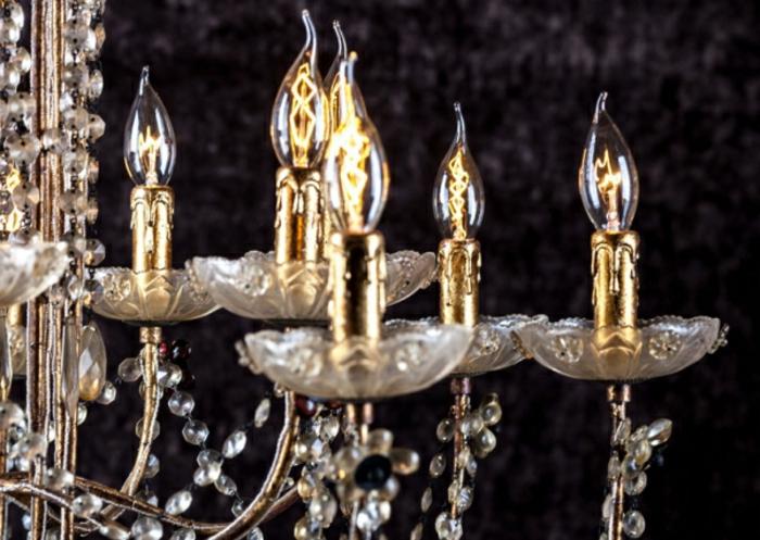 inspiration déco lustre en cristal