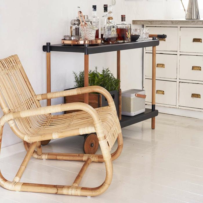 inspirations meuble en rotin intérieur et extérieur