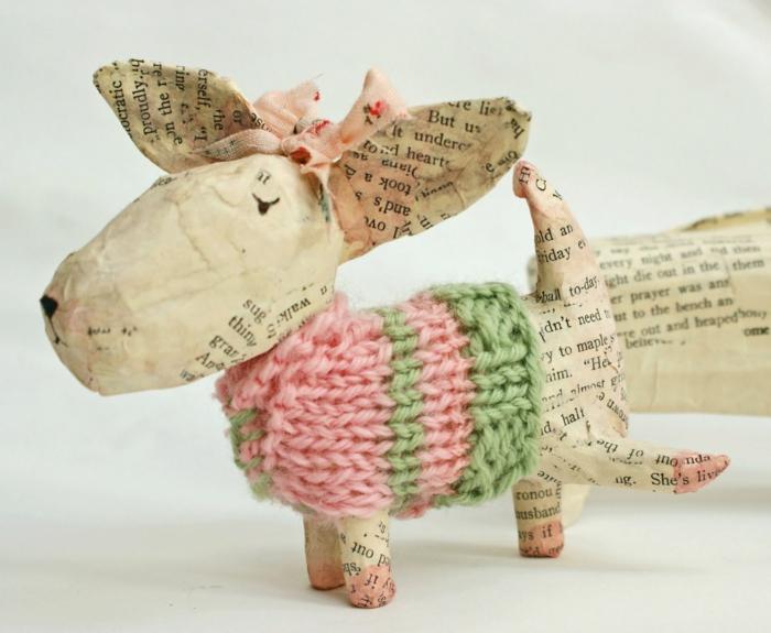 jouet originale faire du papier mâché