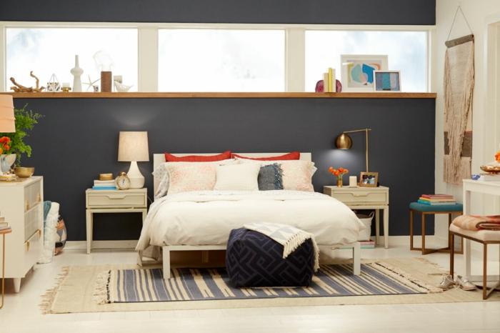 id es de meuble bout de lit pour une chambre design. Black Bedroom Furniture Sets. Home Design Ideas