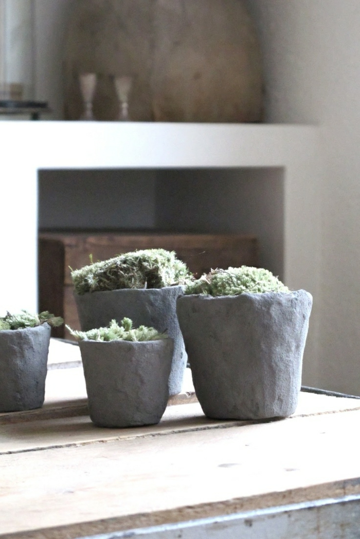 pots de fleurs wabi sabi idées
