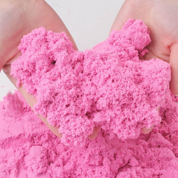 sable magique couleur rose