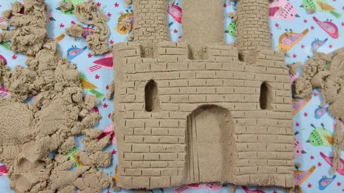 sable magique diy idée