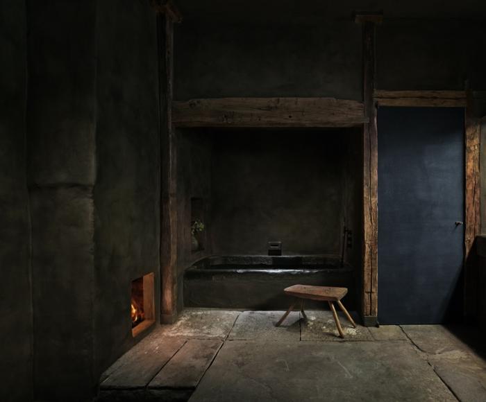 salle de bain style wabi sabi