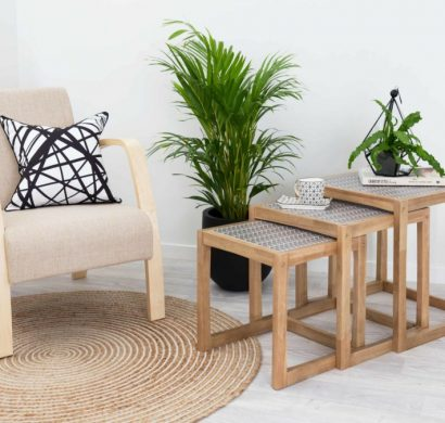 Table Gigogne : Idées Inspirantes Comment Décorer Un Petit Salon