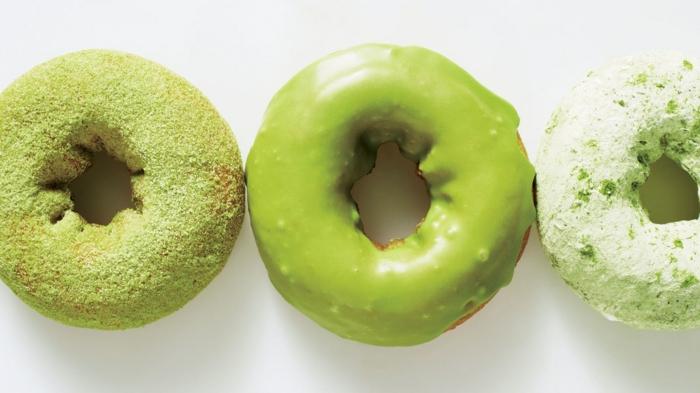 thé matcha doughnuts recette