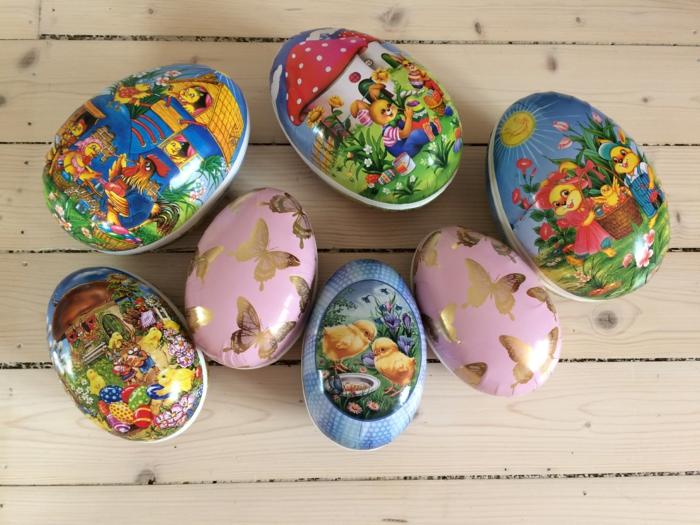 œuf de Pâques déco stickers