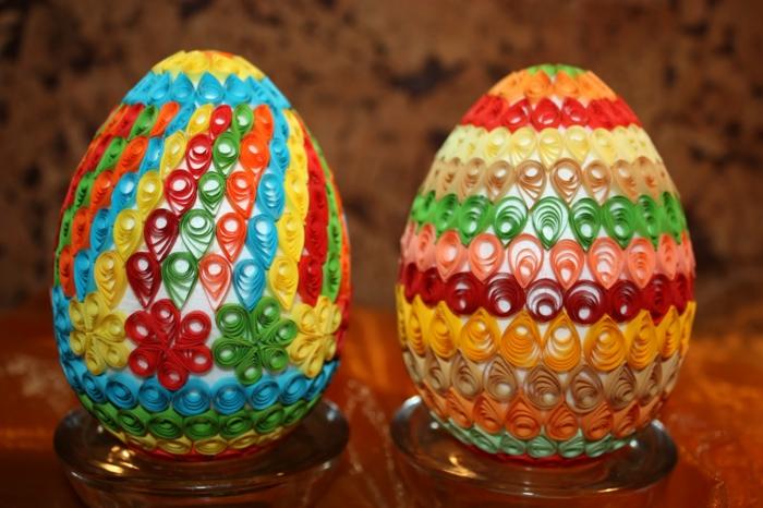 œuf de paques quiling