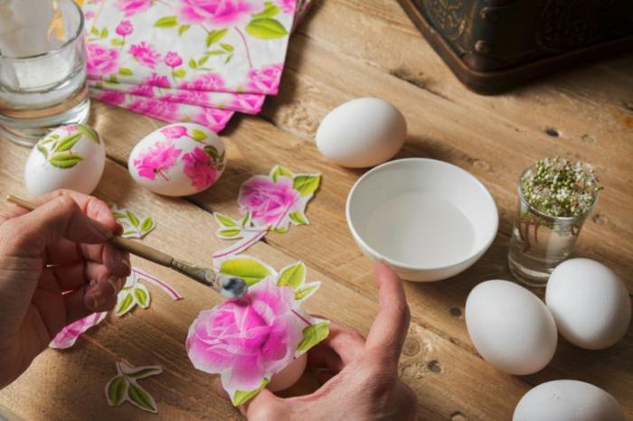 œuf de pâques technique découpage idée