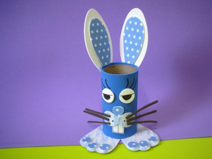 bricolage de Pâques faire un lapin