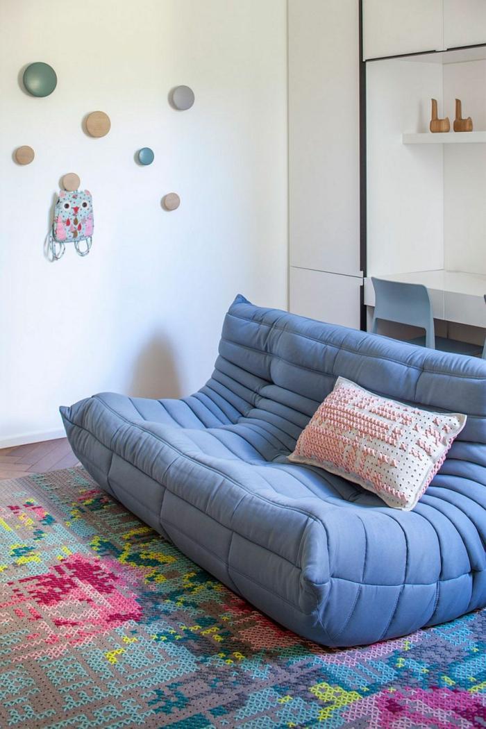 canapé togo pour la chambre enfant