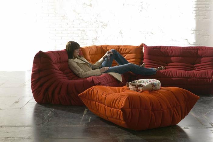canapé togo pour se relaxer