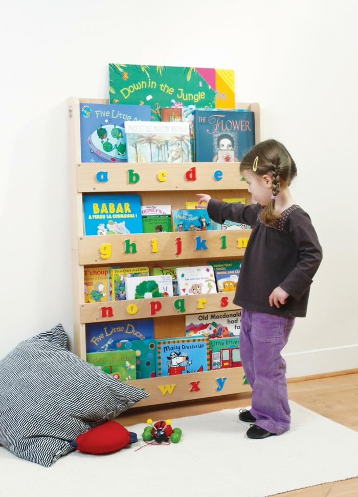 chambre montessori comment organiser les livres
