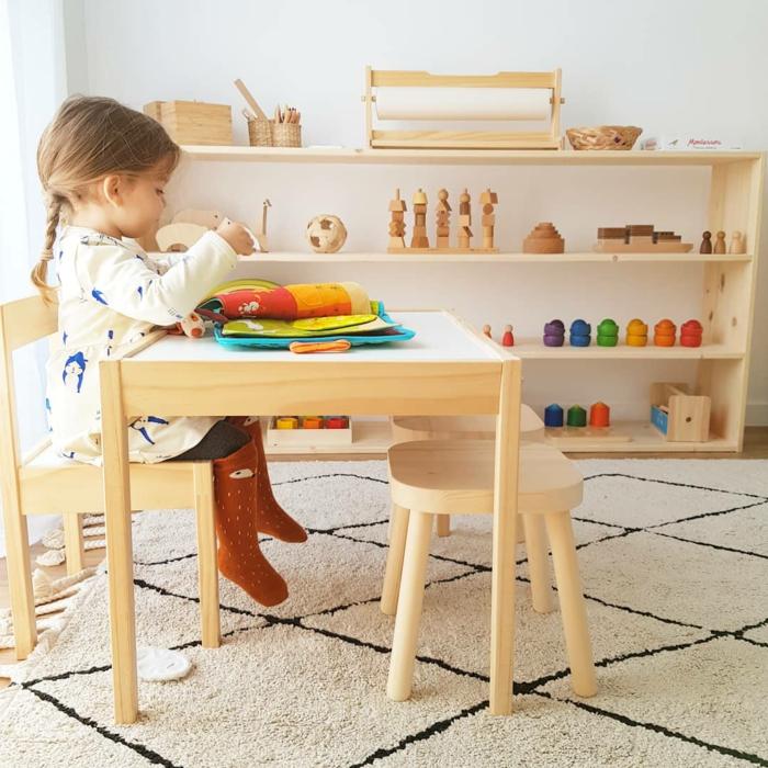 chambre montessori comment organiser un coin d'activités