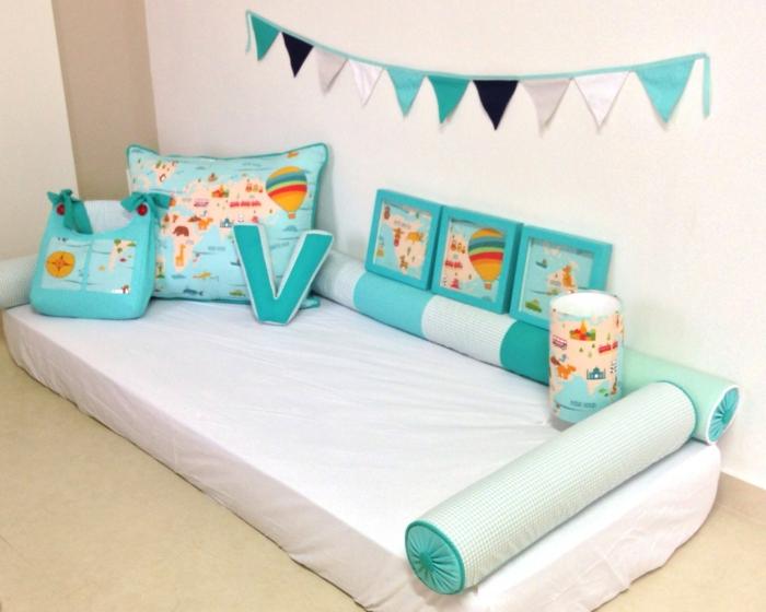 chambre montessori lit enfant