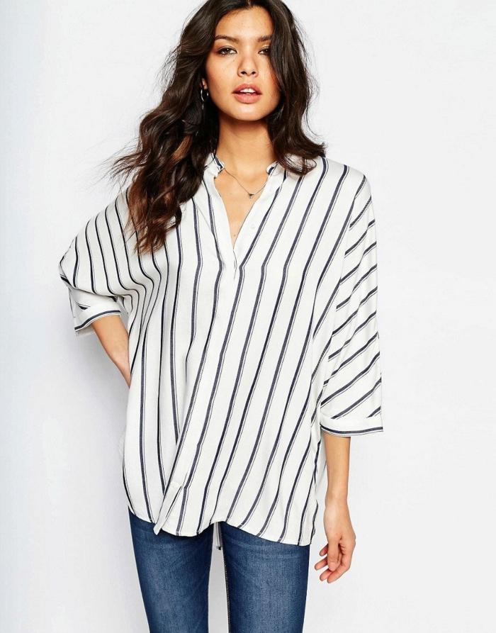 chemise femme rayures pour être plus stylée
