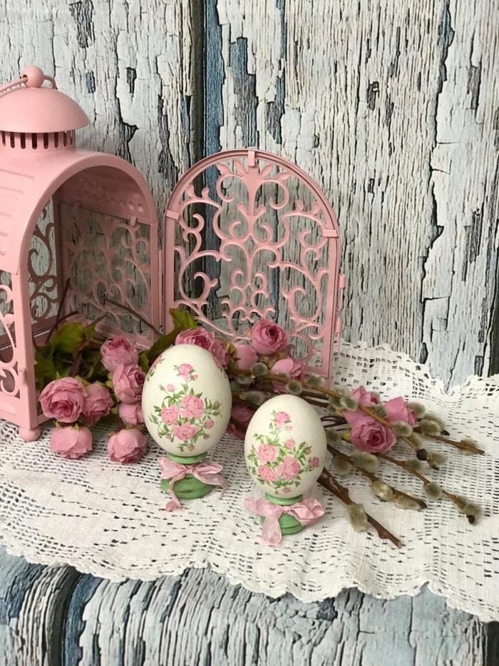 comment décorer un œuf de paques avec découpage