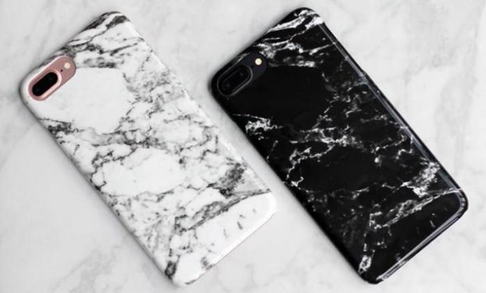 coque personnalisée imitation marbre