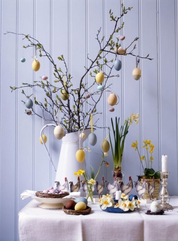 déco de pâques idée table festive