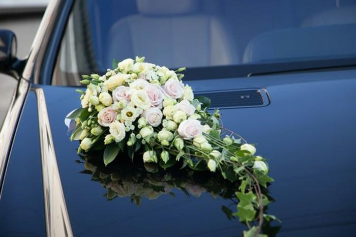 décoration voiture mariage proposition