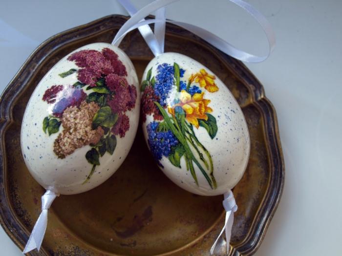 découpage œuf de paques polystyrène
