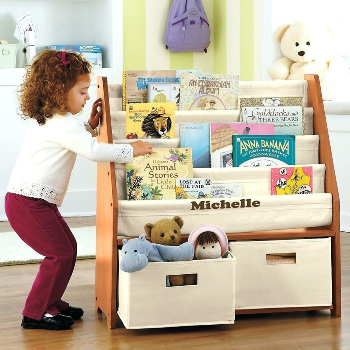 espace éducatif dans la chambre montessori