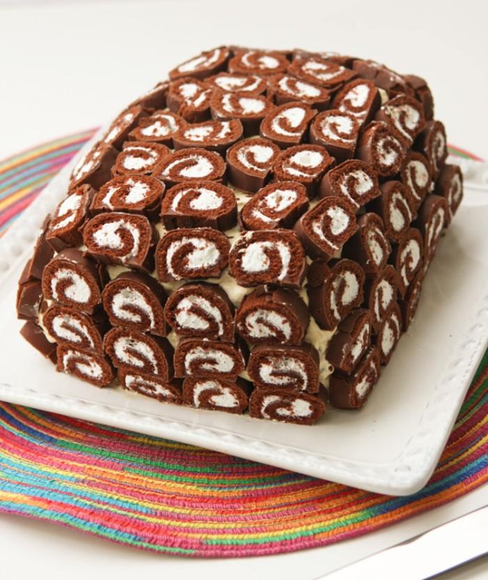 idée créative de décoration gâteau