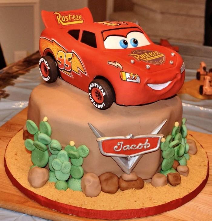 idée décoration gâteau anniversaire petit garçon
