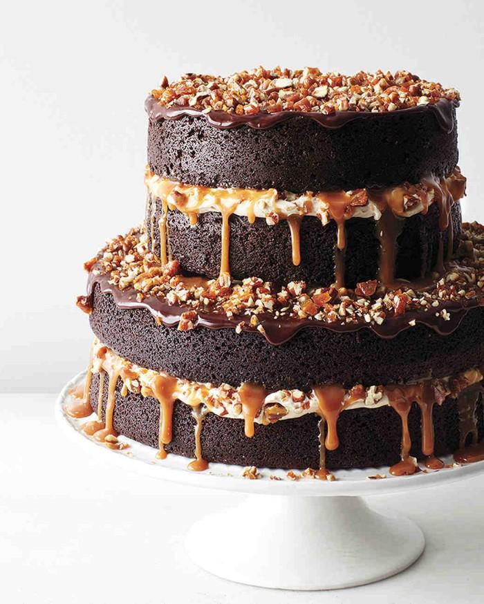 idée décoration gâteau au chocolat