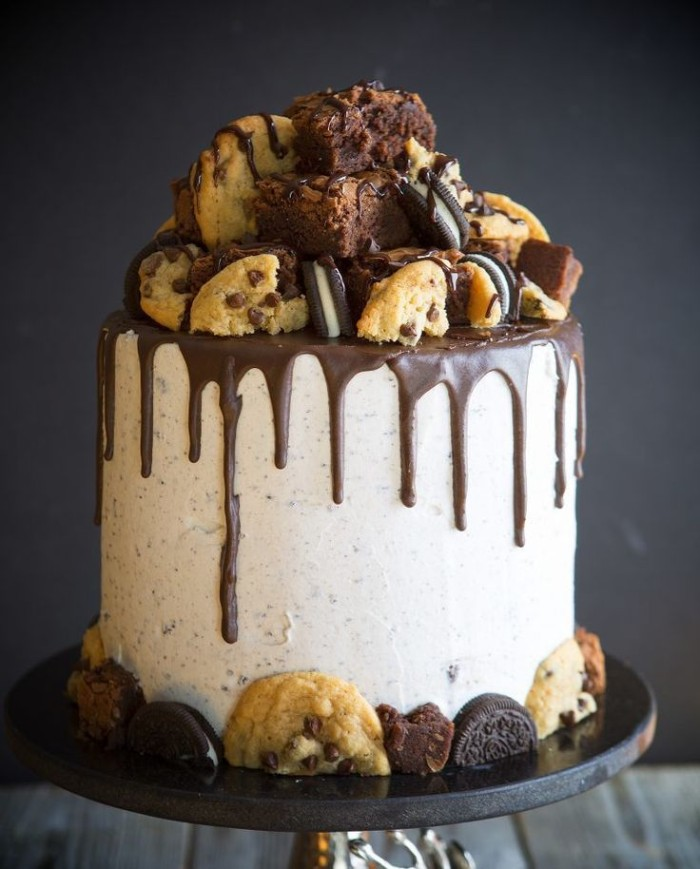 idée décoration gâteau biscuits muffins