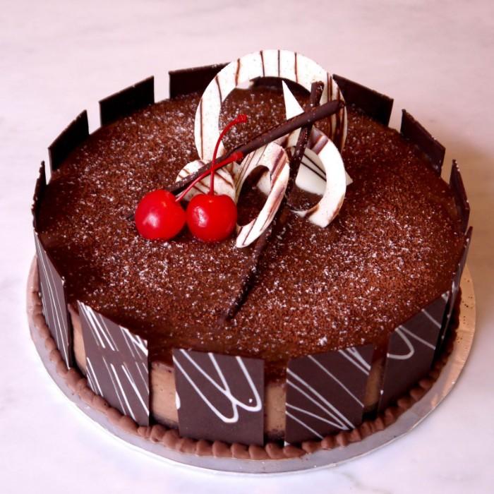 idée décoration gâteau chocolat