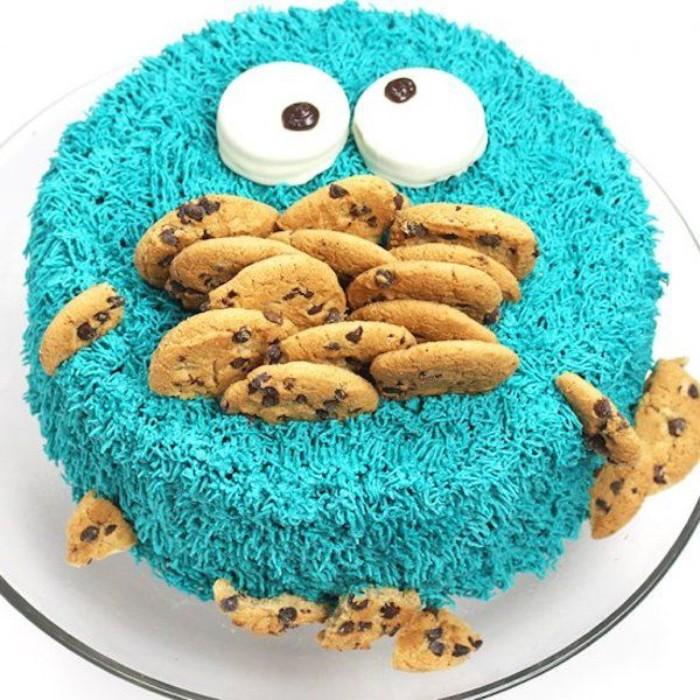 idée décoration gâteau cookies